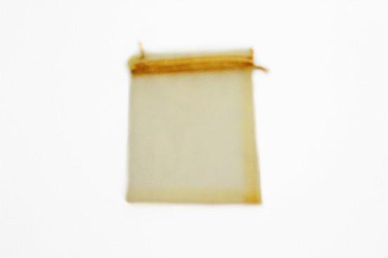 Saco Organza Dourado 15x10cm