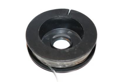 Elástico Silicone 1mm Transparente