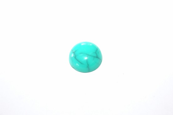 Aplicação Resina 12mm Azul Turquesa
