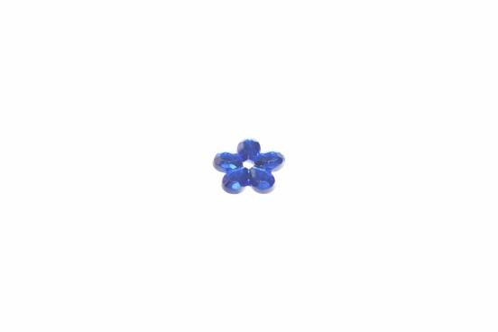 Aplicação Acrílico 12mm Facetado Azul