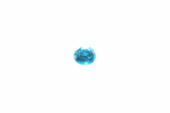 Aplicação Acrílico 10mm Facetado Azul