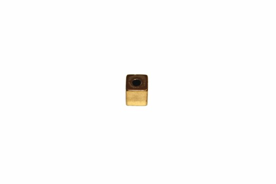 Hematita 5x5mm Dourada