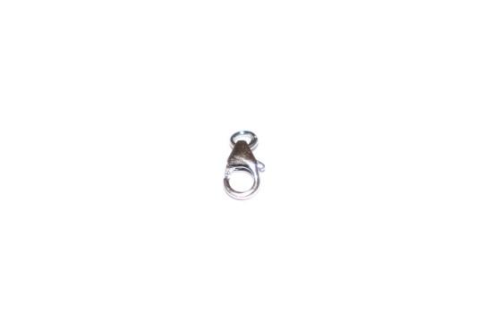 Mosquetão 10mm Prata c/ Argola