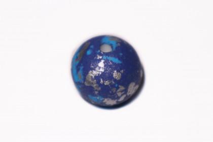 Craquelada 24mm Mesclada Azuis c/ Prata