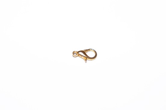Mosquetão 12mm Dourado