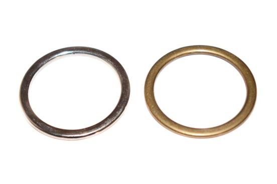 Argola Metal Fechada 38mm