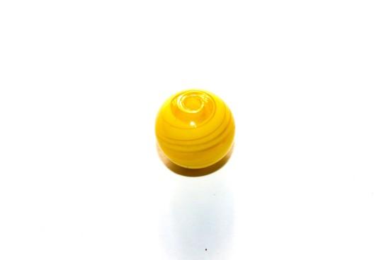 Murano Bola 19mm Amarelo