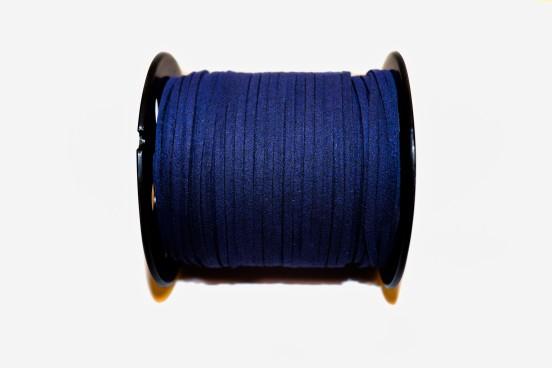 Camurça Sintética 3mm Azul Marinho