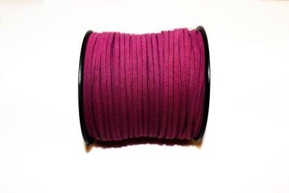 Camurça Sintética 3mm Rosa Escuro