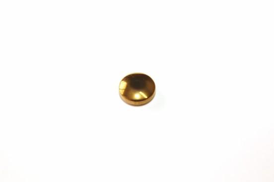 Hematita Rondela 08mm Dourada