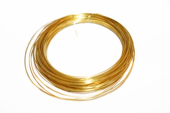 Arame 0,80mm Dourado