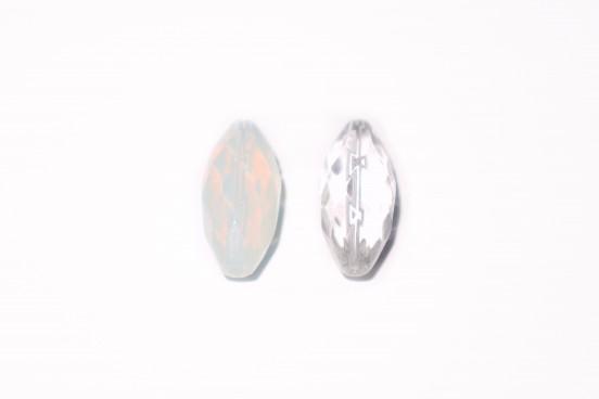 Cristal Oval Facetado 30x14mm