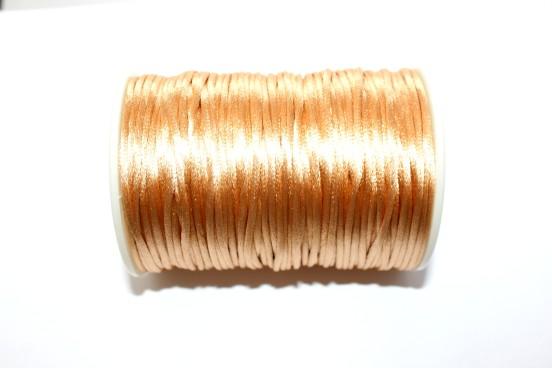 Cordão de Seda 2mm Pérola
