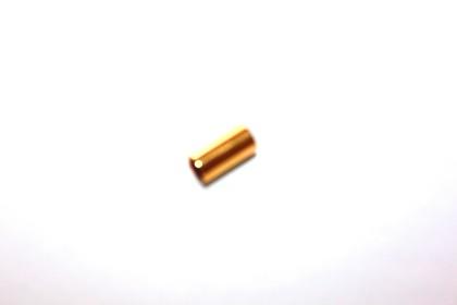 Cano 10x5mm Aço Dourado