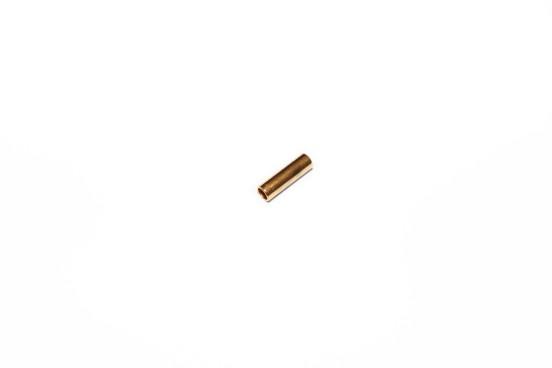 Cano 10x3mm Aço Dourado