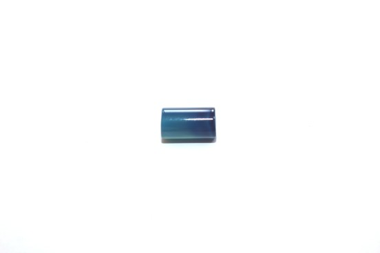 Ágata Tubo 12mm Azul