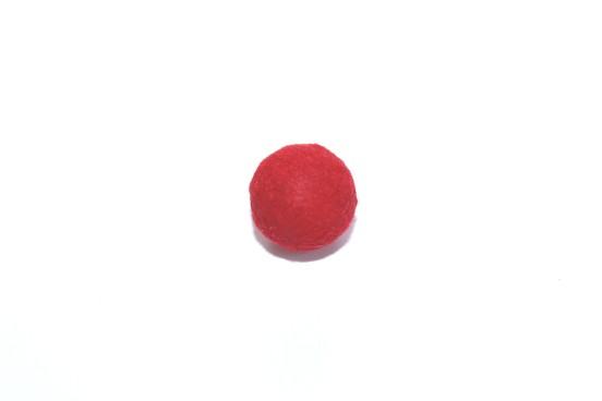 Resina 14mm Vermelho Efeito Camurça