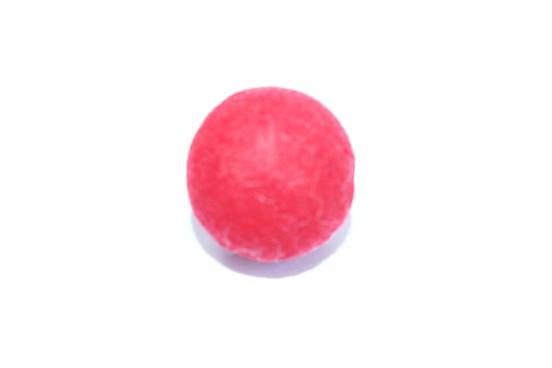 Resina 23mm Vermelho Efeito Camurça