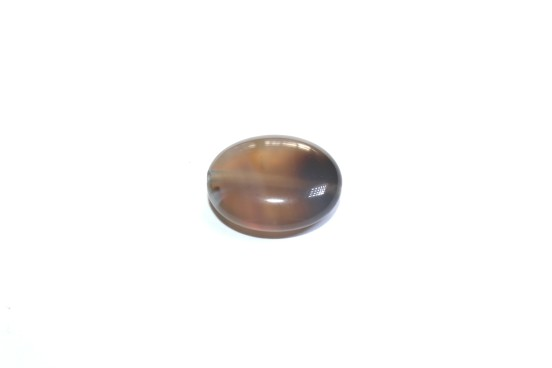 Ágata Oval Cinza
