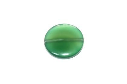 Ágata Disco 25mm Verde
