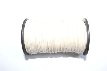 Cordão Encerado 1,5mm Pérola
