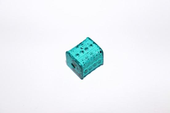 Resina Azul Turquesa Mesclado 16mm