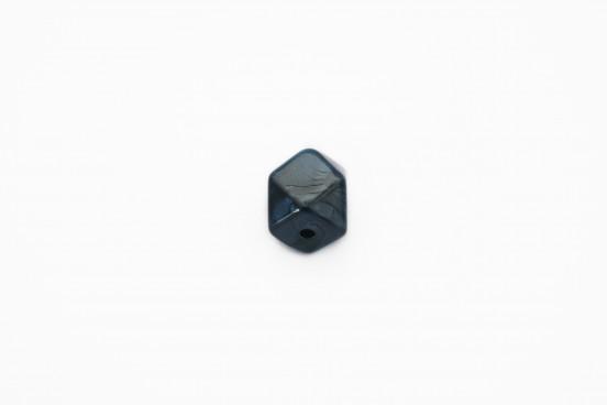 Resina Facetada Azul Marinho 15mm
