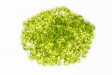 Missanga Verde Transparente