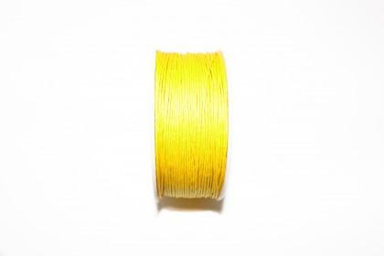 Cordão Encerado 1mm Amarelo
