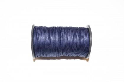 Cordão Encerado 1mm Azul Marinho