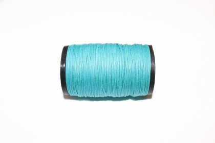 Cordão Encerado 1mm Azul