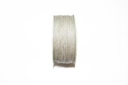 Cordão Encerado 1mm Cinza