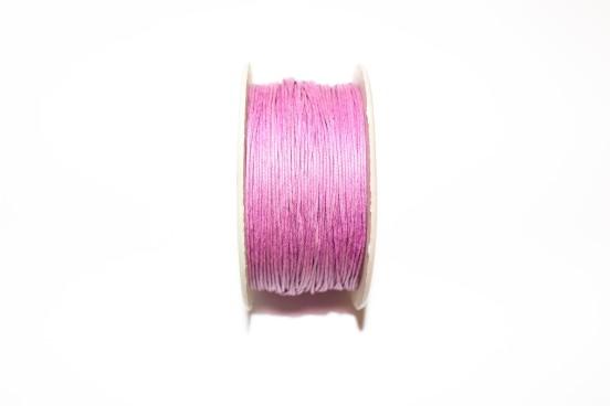 Cordão Encerado 1mm Violeta