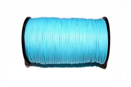 Cordão Encerado 1,5mm Azul