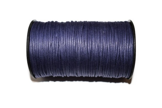 Cordão Encerado 1,5mm Azul Marinho