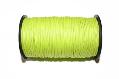 Cordão Encerado 1,5mm Verde Citrino