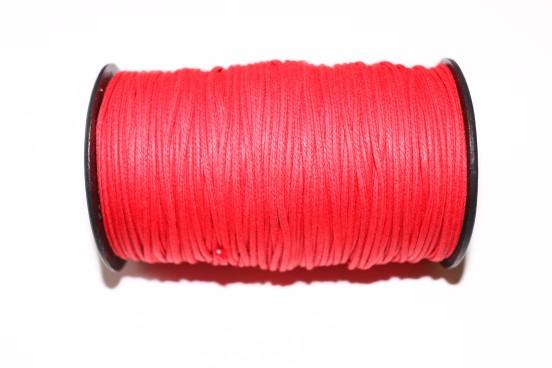 Cordão Encerado 1,5mm Vermelho