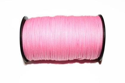 Cordão Encerado 1,5mm Rosa