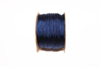Fio de Seda 0,8mm Azul Escuro