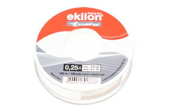 Nylon 0,25mm Transparente