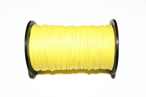 Cordão Encerado 1,5mm Amarelo