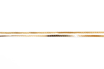 Corrente Metal Espinha Dourada