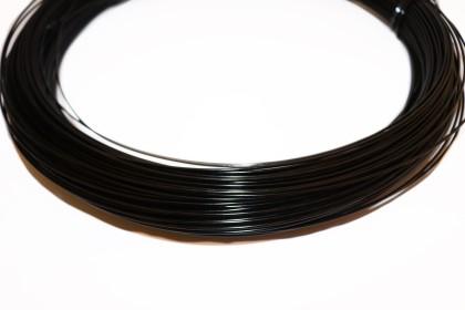 Arame de Alumínio 1,5mm Preto