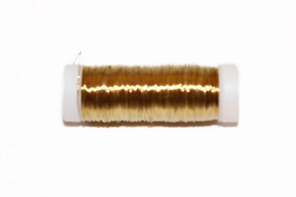 Arame de Cobre 0,30mm Dourado