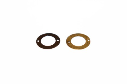 Argola Metal Fechada 16mm 2 Furos