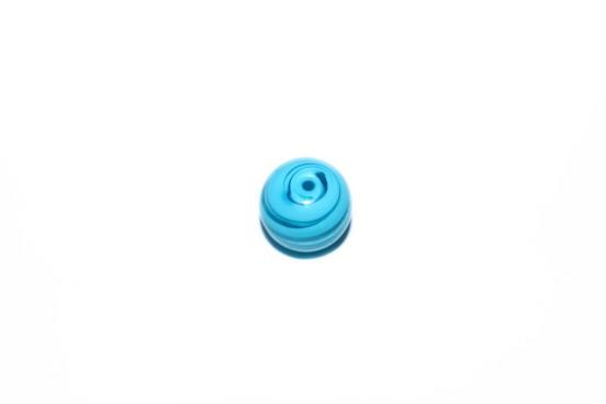 Murano Bola 13mm Azul Piscina