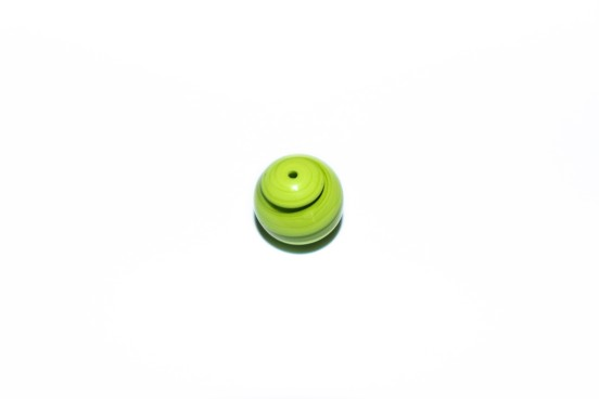 Murano Bola 13mm Verde Alface