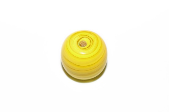 Murano Bola 23mm Amarelo