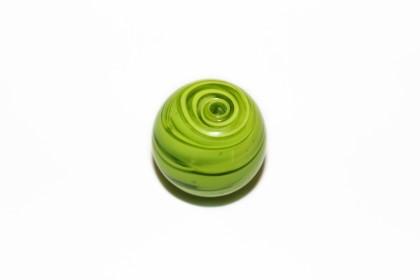 Murano Bola 23mm Verde Alface
