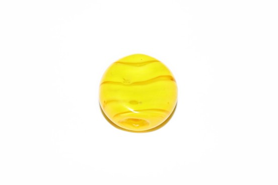 Murano Espalmado 22mm Amarelo